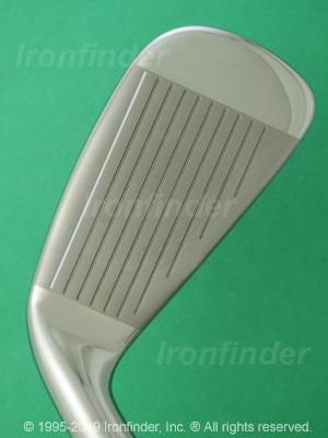 Face side of Cleveland HB IRONS Irons head