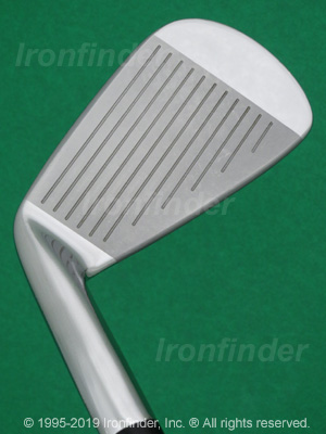 Face side of Mizuno MP-4 Irons head