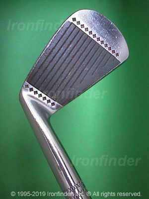 Face side of MacGregor MTourney MT1 (star) VFQ Irons head