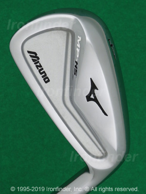 Back side of Mizuno MP-H5 Irons head - the 