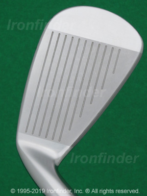 Face side of Mizuno MP-H5 Irons head