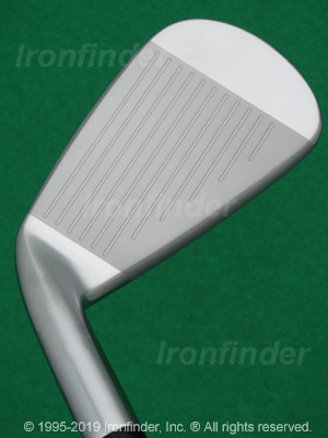 Face side of Mizuno MP-H4 Irons head