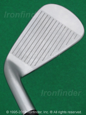 Face side of Callaway APEX Irons head