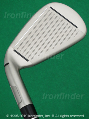 Face side of TaylorMade M1 Irons head