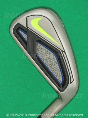 Back side of Nike Vapor Fly Irons head - the 