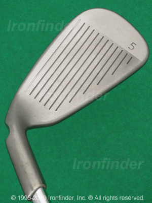 Face side of Ping KARSTEN Irons head