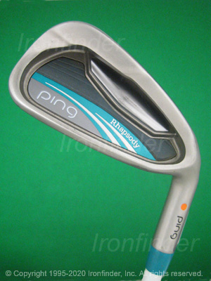 Face side of Ping Rhapsody Irons head