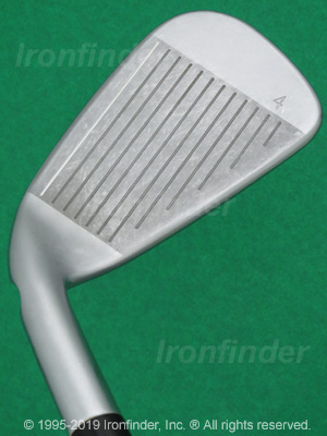 Face side of Ping i200 Irons head
