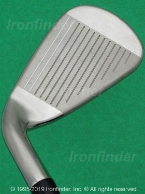 Face side of Callaway ROGUE CF18 Cup 360 Irons head