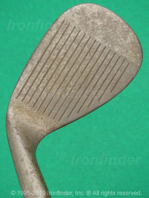 Face side of Cleveland Tour Action 900 Form FORGED (rust) Irons head