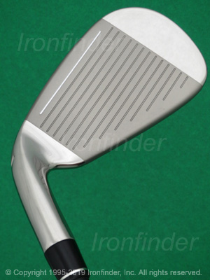 Face side of TaylorMade RBLADEZ (2.0 green) Irons head