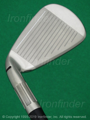 Face side of TaylorMade M6 Speed Bridge Irons head