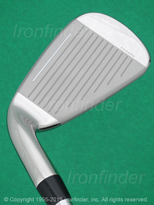 Face side of Cobra KING F8 ONE Length Irons head