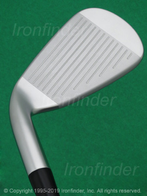 Face side of Mizuno JPX 919 HOT METAL Irons head