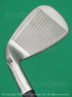 Face side of Wilson Staff C300 FLX FACE Irons head