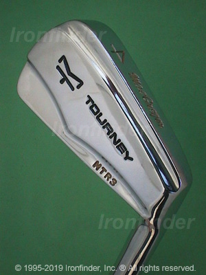 Back side of MacGregor TOURNEY MT MTRx Irons head - the 