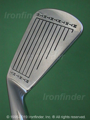 Face side of MacGregor TOURNEY MT MTRx Irons head
