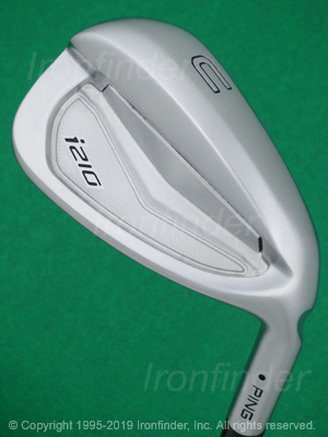 Back side of Ping i210 Irons head - the 