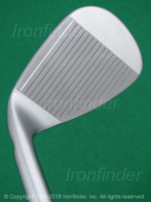 Face side of Ping i210 Irons head