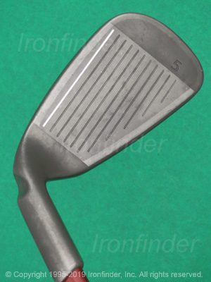 Face side of Ping K15 Ti Face Irons head