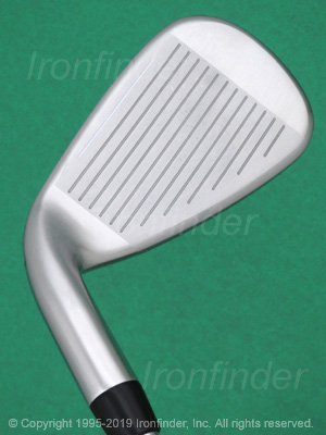 Face side of Cobra F-MAX Draw Weighting Irons head