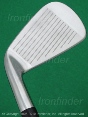 Face side of Cobra AMP Forged Irons head