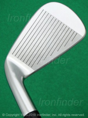Face side of Cobra KING Forged ONE Length Irons head