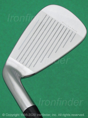 Face side of Cobra KING F9 Speedback Irons head