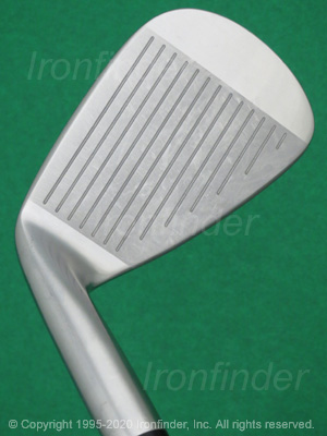 Face side of Mizuno MP-18 Irons head