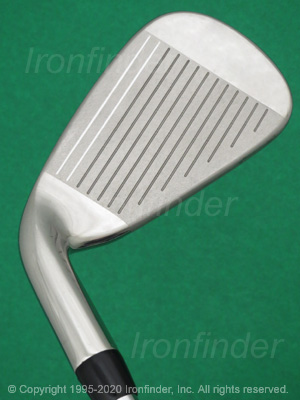Face side of Callaway X Series Irons head