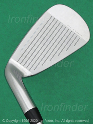 Face side of Cobra KING F9 ONE Length Irons head
