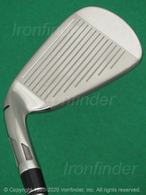 Face side of TaylorMade SIM MAX OS Speed Bridge Irons head