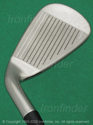 Face side of Callaway MAVRIK Irons head
