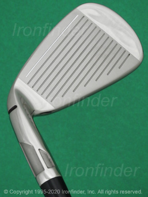 Face side of TaylorMade SIM MAX Speed Bridge Irons head