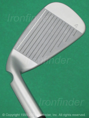 Face side of Ping G410 Irons head