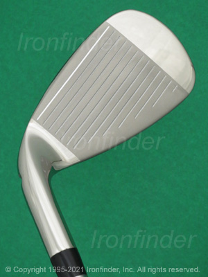 Face side of Wilson Staff D7 RE-AKT Irons head