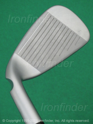 Face side of Ping G400 Irons head