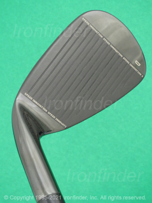 Face side of Cleveland CG Black CB Irons head