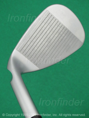 Face side of Ping G700 Irons head
