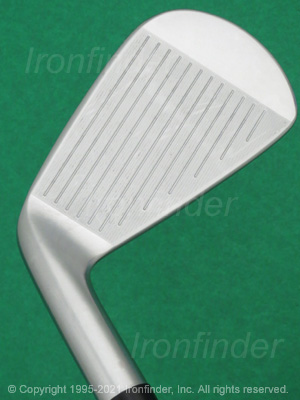 Face side of Srixon Z 545 Forged Irons head