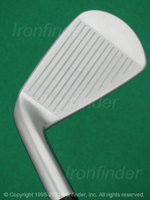 Face side of Srixon Z 745 Forged Irons head