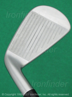 Face side of Srixon Z U65 Forged Irons head