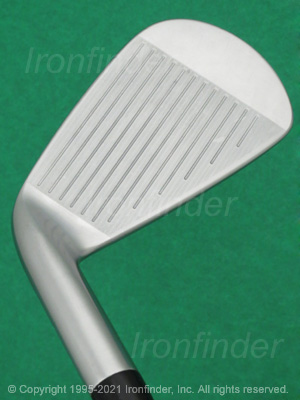 Face side of Srixon Z 565 Forged Irons head