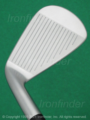 Face side of Srixon Z 585 Forged Irons head