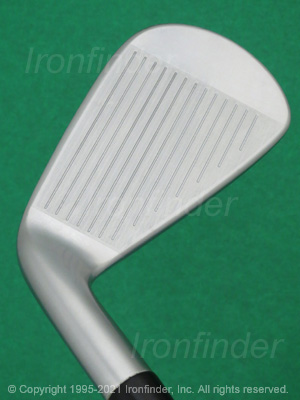 Face side of Srixon Z U85 Forged Irons head