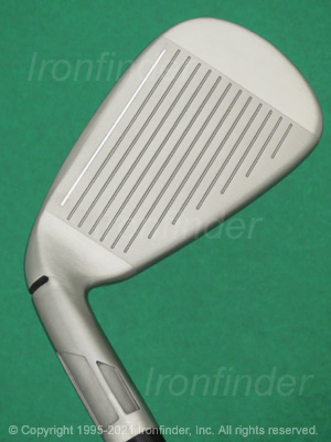 Face side of TaylorMade SIM2 MAX Irons head