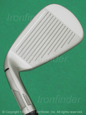 Face side of TaylorMade SIM2 MAX OS Irons head