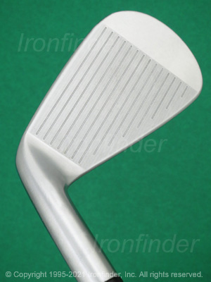 Face side of Srixon Z 785 Forged Irons head