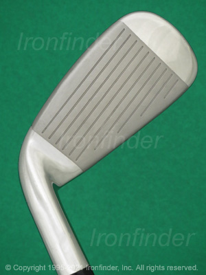 Face side of Cleveland LAUNCHER HB TURBO Irons head