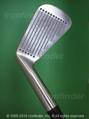 Face side of MacGregor Nicklaus MUIRFIELD Irons head